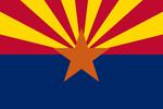 Flagge von Arizona